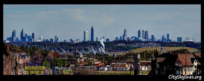 Down-town Atlanta
