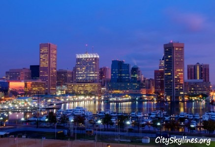 City of Baltimore Skyline, MD