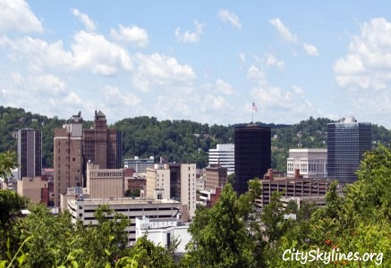 Charleston Skyline, WV