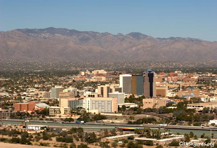 Tucson, AZ - University of Arizona View