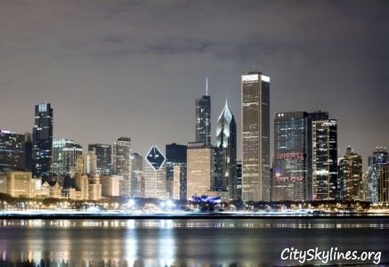 City of Chicago at Night