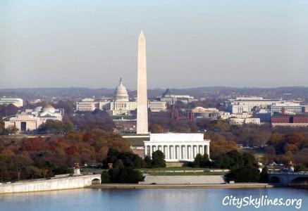 D.C. Skyline - Washington Monument