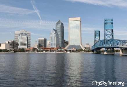 Jacksonville City Skyline, FL
