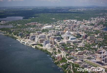 Madison Skyline, Wisconsin