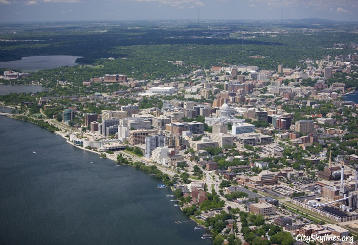 Madison Skyline, Wisconsin