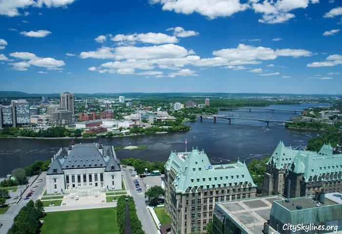 Ottawa City Skyline - Water Overlook