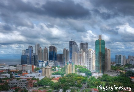 Panama City Skyline - Republic of Panama