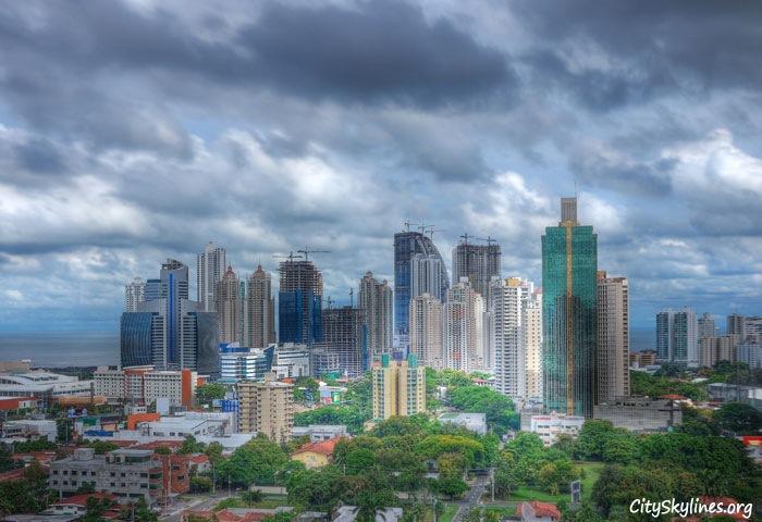 Panama City Skyline - Republic of Panama