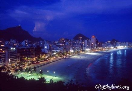 Rio de Janeiro Beach Skyline