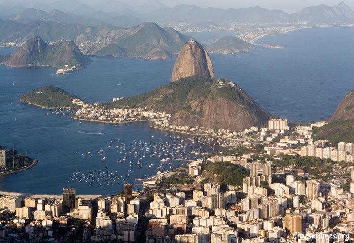 Rio de Janeiro Skyline, Brazil