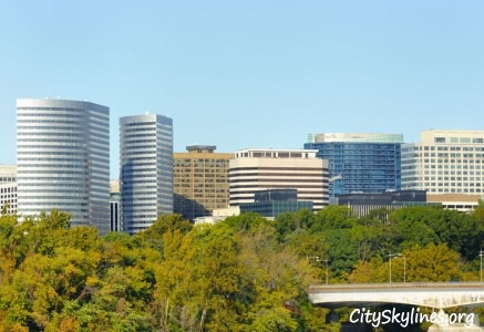 Rosslyn, Arlington, VA Skyline