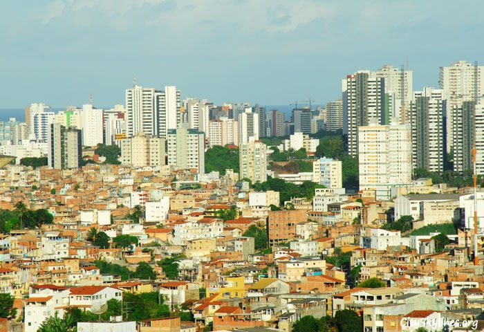 Salvador, Bahia - Brazil Skyline