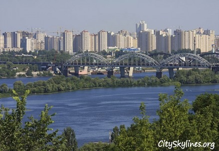 Kiev City, Ukraine - Dnieper River Overlook