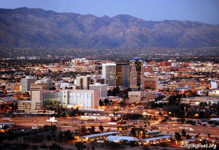 Tucson, AZ - Sentinel Peak Park