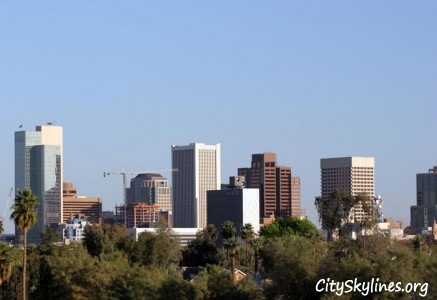 City of Phoenix Arizona Skyline
