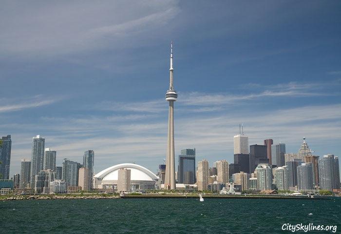 Toronto Canada City Skyline