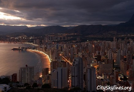 Benidorm, Spain - Dawn