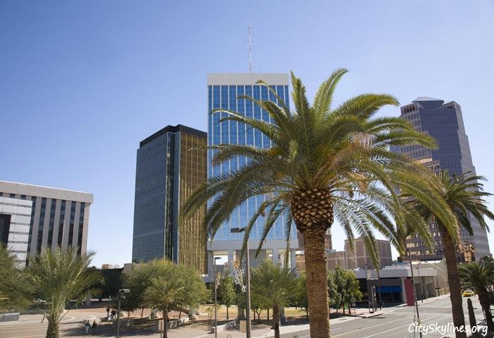 Downtown Tucson Arizona Skyline
