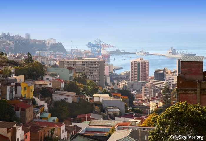 Valparaíso City Skyline, Chile