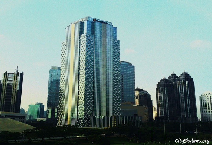 Sudirman Central Business District at daylight