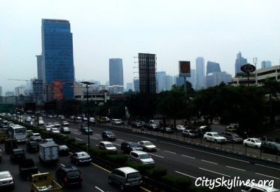 Skyline of Kuningan Rasuna area