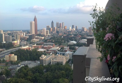 Atlanta Downtown View by William Beadle