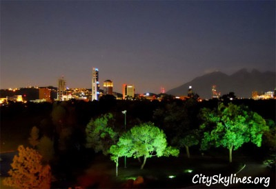 Monterrey, Campestre Park at night