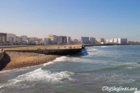 Casablanca Beach, Morocco