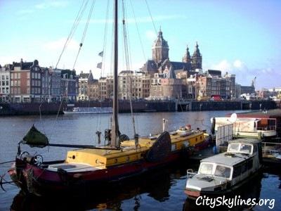 Amsterdam CitySkyline, Holland