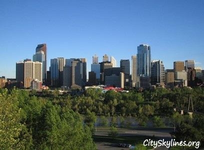 Calgary City Skyline, Canada