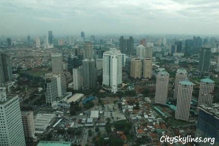 Jakarta City Skyline, Indonesia