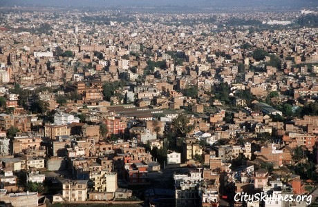 Kathmandu City Skyline, Nepal