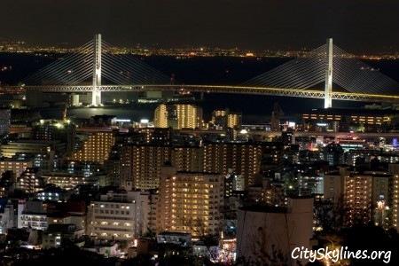 Kobe Japan, City Skyline