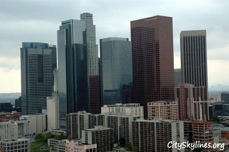 LA City Skyline, California