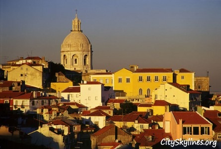 Lisbon City Skyline, Portugal
