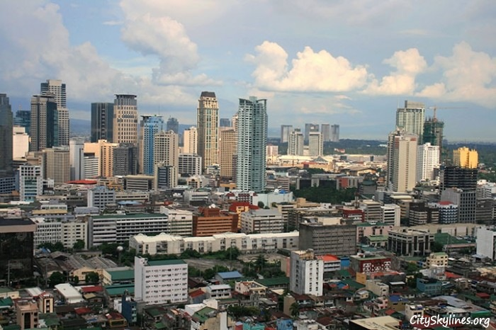 Manila City Skyline during the day