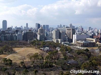 Osaka City Skyline, Japan