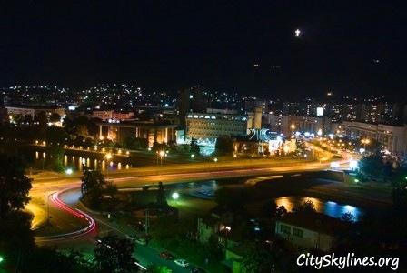 Skopje City Skyline, Macedonia