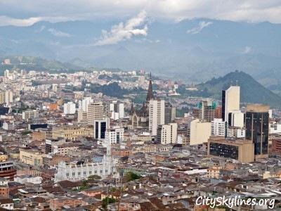 Manizales City Skyline, Colombia