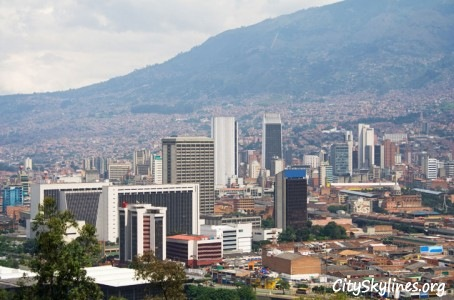 Medellín City Skyline, Colombia