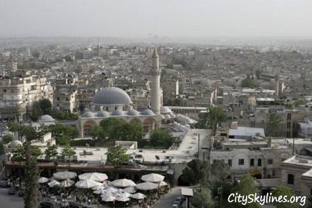 Aleppo City Skyline, Syria