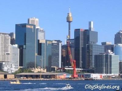 Sydeny City Skyline, New South Wales