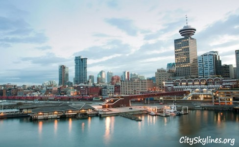 Vancouver City Skyline, Canada