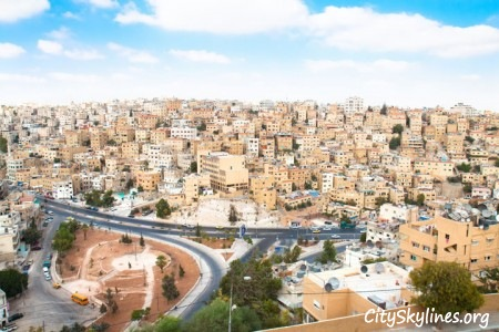 The City Of Amman, Jordan