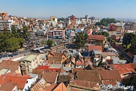Antananarivo City Skyline, Madagascar