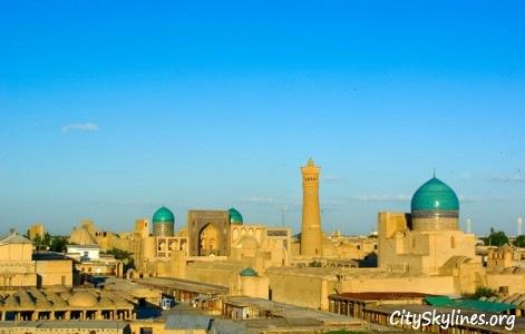 Bukhara City Skyline, Uzbekistan