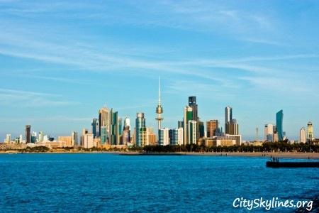 Kuwait City Skyline, Kuwait