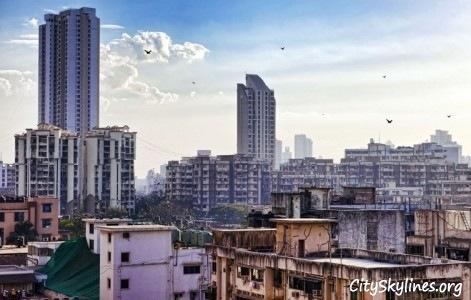 Mumbai City, Building Top View