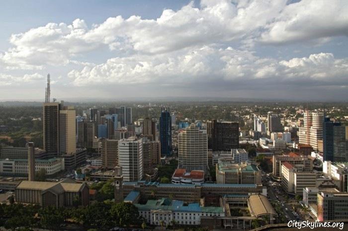 Nairobi City Skyline, Kenya