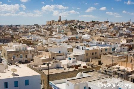 Sousse City Skyline, Tunisia